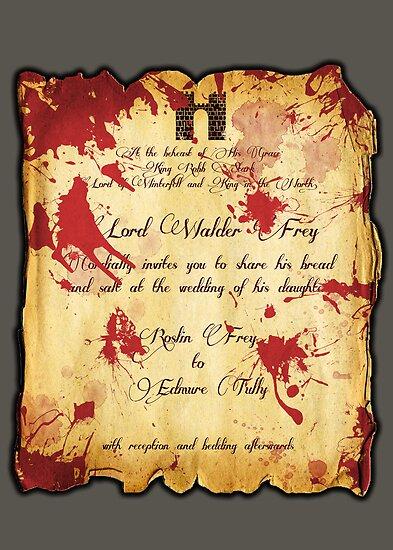 Red Wedding by matthumphrey