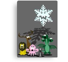 Winter is coming... Canvas Print