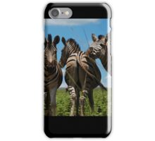 whoops!  wrong way! iPhone Case/Skin
