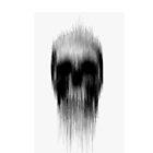 Melted Skull iPhone Case by Julian Machann