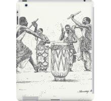 African Tribal Drummers iPad Case/Skin