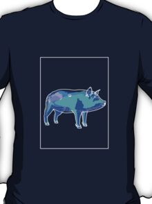 Pig Blue Green B T-Shirt
