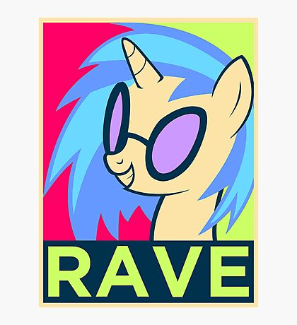 RAVE Photographic Print
