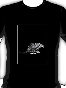Rat Black Grey A T-Shirt