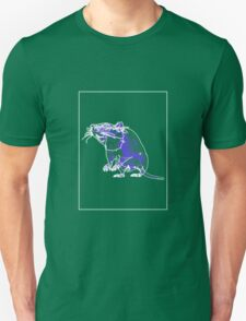 Rat Mauve Green E T-Shirt