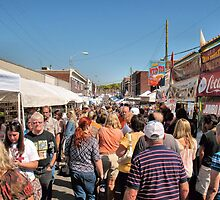 Unicoi County Apple Festival, Erwin, Tennessee, USA by © Bob Hall
