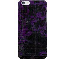 USGS Topo Map Washington State WA Mead 242270 1973 24000 Inverted iPhone Case/Skin