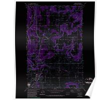 USGS Topo Map Washington State WA Mead 242270 1973 24000 Inverted Poster