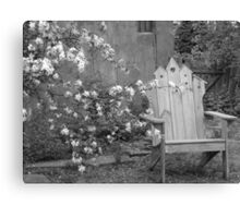 And I Shall Wait for You My Love Canvas Print