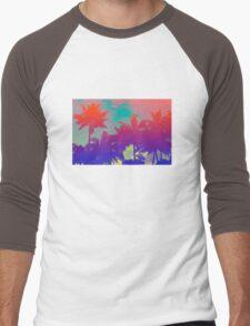 PALM TREE Men's Baseball ¾ T-Shirt