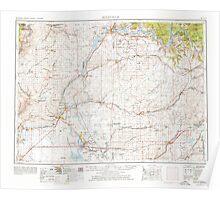 USGS Topo Map Washington State WA Ritzville 243474 1953 250000 Poster