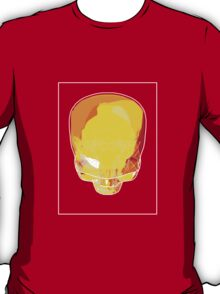 Skull Yellow Red E T-Shirt