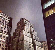 New Yorker Hotel at Night by SylviaS