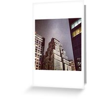 New Yorker Hotel at Night Greeting Card