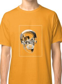 Skull Black Grey A Classic T-Shirt