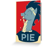 PIE Greeting Card