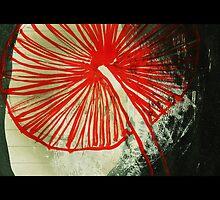 Red Mushroom by metrostation