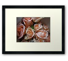 Wrapped up in a silk ribbon Framed Print