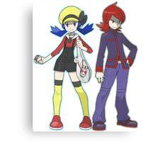 Pokemon Trainers Canvas Print