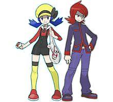 Pokemon Trainers Photographic Print