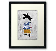 Goku Framed Print