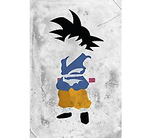 Goku Photographic Print