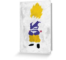 Goku SSJ Greeting Card