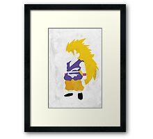 Goku SSJ3 Framed Print