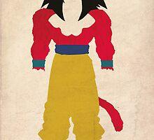 Goku SSJ4  by jehuty23