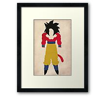 Goku SSJ4  Framed Print