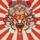 Pandabot Bunthounsand by b-inky