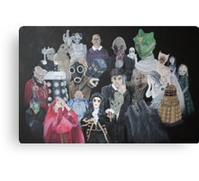 Doctor Who Horde Canvas Print