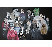 Doctor Who Horde Photographic Print