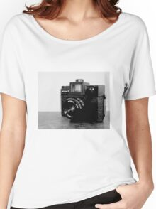 CAMERA Women's Relaxed Fit T-Shirt