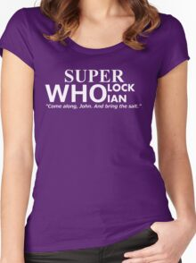 Superwholockian + quip Women's Fitted Scoop T-Shirt
