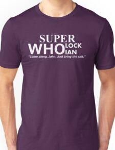 Superwholockian + quip Unisex T-Shirt