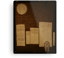 egg in the city Metal Print