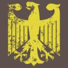 German Eagle (Yellow) by Solid Gold Bomb (SGB)