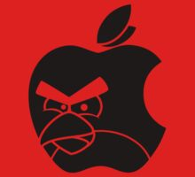 The Angry Apple -black- by FAMOUSAFTERDETH