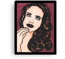 Embered - Coloured Canvas Print