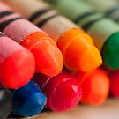 Crayons 2 by Gary Chapple