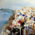 Memories of Santorini by Ivana Pinaffo