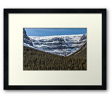 Columbia Icefield Framed Print