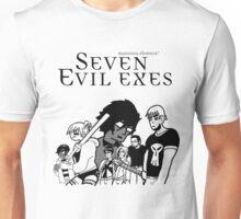 Seven Evil Exes Unisex T-Shirt
