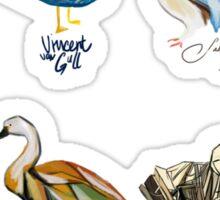 Art Fowl Sticker