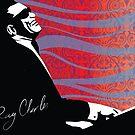 retro RAY CHARLES digital illustration  by SFDesignstudio