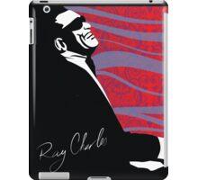 retro RAY CHARLES digital illustration  iPad Case/Skin