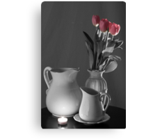 Seeing Color in My Tulips Canvas Print