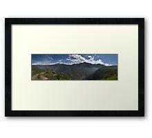 Condor Alley Framed Print