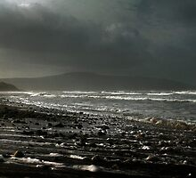 Storm Shingle, Strandhill, Co Sligo, Ireland by 2cimage